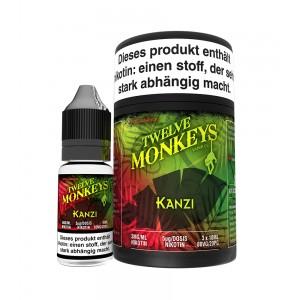 12Monkeys E-Liquid KANZI 3 x 10 ml