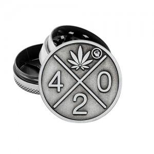 """Fire-Flow Metall Grinder """"420"""" 40 mm 3-teilig"""