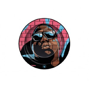 """Fire-Flow Ashtray Hip Hop Legends """"Notorious B.I.G"""" small"""