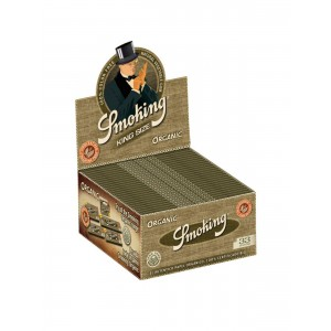 Smoking Organic King Size Slim Papers, 50er Box