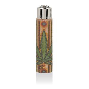 CLIPPER Feuerzeug Cork Cover Leaf #7 Sun (Handgenäht)