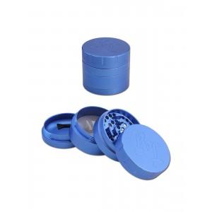 Black Leaf Grinder Startrails, blau
