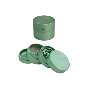 Black Leaf Grinder Startrails, grün