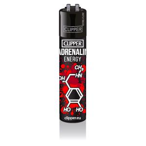 CLIPPER Feuerzeug Molecules #2, Adrenalin