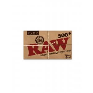 RAW Classic 500´s 1 1/4 Size Papers, Heftchen einzeln