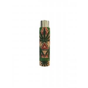 CLIPPER Feuerzeug Cork Cover Leaf #17 Dreieck (Handgenäht)