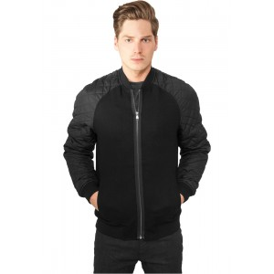 URBAN CLASSICS Diamond Nylon Wool Jacke
