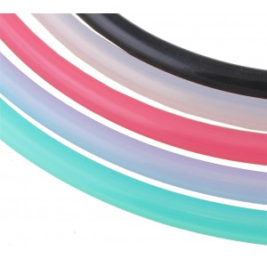 Silikon Shisha-Schlauch 150 cm, transparent (Aladin)