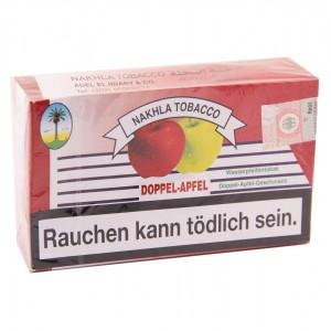 Nakhla Tobacco 200 g Shishatabak Doppel-Apfel