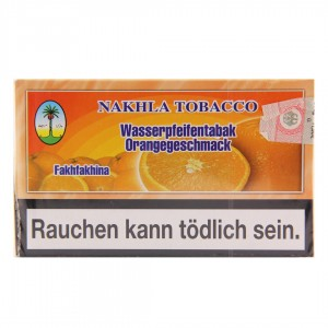 Nakhla Tobacco 200 g Shishatabak Orange
