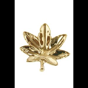 Champ High Leaf Aschenbecher gold