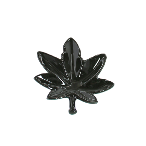 Champ High Leaf Aschenbecher schwarz