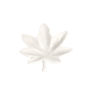 Champ High Leaf Aschenbecher weiß
