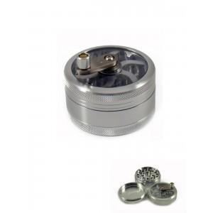 Kurbel Grinder Ø 56 mm, 3-teilig chrom