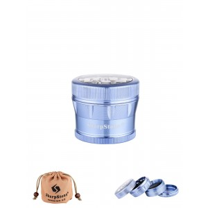 SharpStone Grinder 53 mm, blau