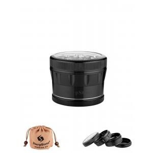 SharpStone Grinder 62 mm, schwarz