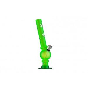 Dreamliner Acrylbong gefrostet Hanf 20 cm grün