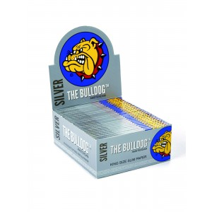 The Bulldog Silver Rolls King Size Slim, Endlospaper einzeln
