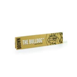 The Bulldog Brown King Size Slim Papers, Heftchen einzeln