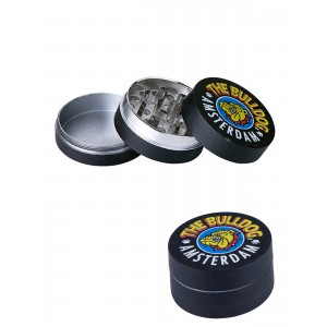 The Bulldog Grinder Metall Ø 45 mm, 3-teilig schwarz