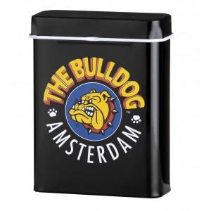 The Bulldog Zigarettenbox Metall schwarz