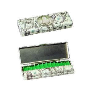 Black Leaf Dollar Dose mit Filterbehälter