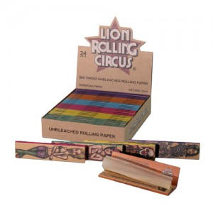 Lion Rolling Circus Unbleached Rolling Papers