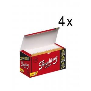 Smoking De Luxe Tubes, 4 x 275 Filterhülsen