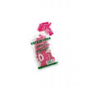 50 PURIZE® XTRA Slim Size Aktivkohle Filter pink
