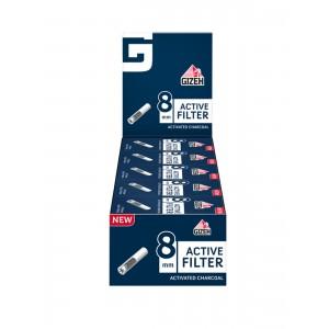 GIZEH Active Filter 8 mm, 25er Großpackung