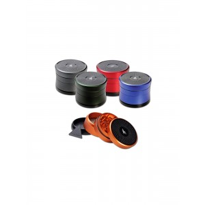 'After Grow' 'Solinder' Grinder Ø 62 mm 4-tlg. titan-grau