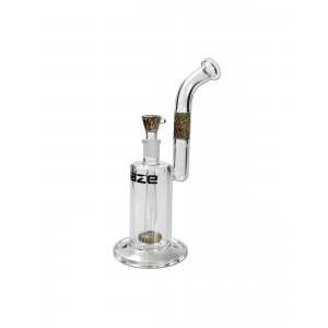 'Blaze Glass' Bubbler mit Duschkopfperkolator 18.8 Schliff