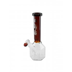 'Blaze Glass' 'Klotz' Icebong amber NS 19/14 Schliff