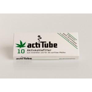 actiTube Aktivkohlefilter, 10er Packung