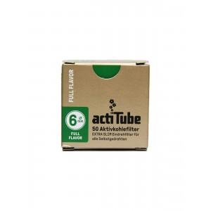 actiTube EXTRA SLIM Aktivkohlefilter, 50er Packung