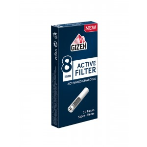 GIZEH Active Filter 8 mm, 10er Box