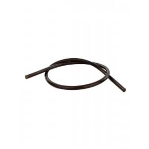 Silikon Shisha-Schlauch 150 cm, schwarz (Aladin)