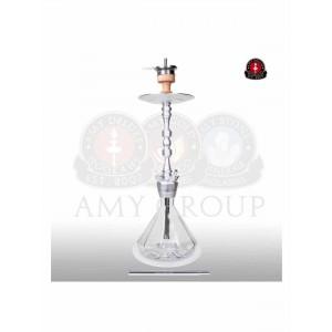 AMY Deluxe Shisha  Alu Diamond clear 80 cm