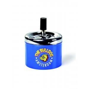 The Bulldog Drehaschenbecher, Blau
