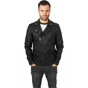 URBAN CLASSICS Biker Jacke (schwarz)