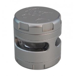 Black Leaf Alu-Grinder Windoz grau 62 mm