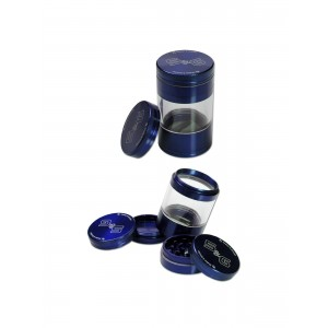 Black Leaf 'S&G' Shaker-Grinder 5-tlg. blau