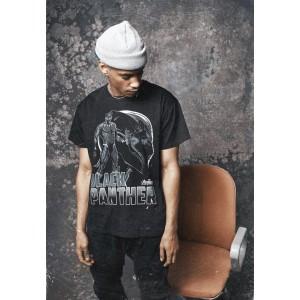 Merchcode Black Panther Logo Tee