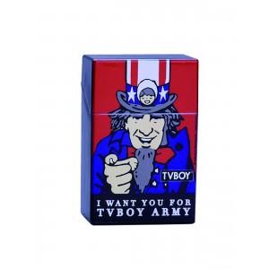 Zigaretten Click Box TVBoy (blau/rot)