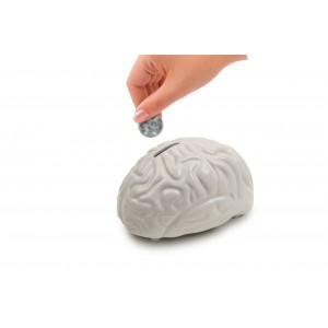 Spardose Brain (Kikkerland)