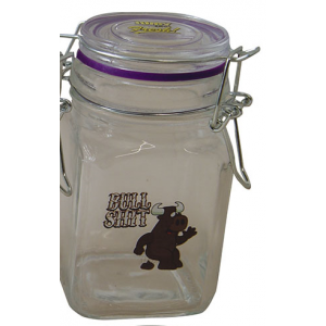Bullshit - Juicy Jar Glasbehälter groß (280 ml)