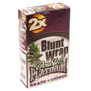 Blunt Wrap Double Platinum GRAPE-A-LICIOUS 2er Packung