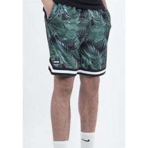 C&S WL Palm Leafs Mesh Shorts
