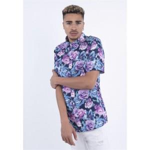 C&S WL Roses Short Sleeve Shirt