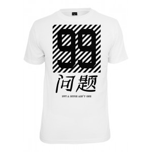 MISTER TEE Chinese Problems (weiß) T-Shirt